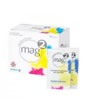 Mag 2 Magnesio Pidolato  20 bustine 2,25g