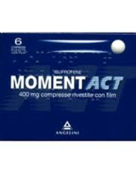 Momentact 6 Compresse Rivestite 400mg
