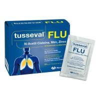 Tusseval Flu 12 Bustine Solubili