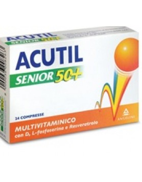 Acutil Multivit Senior 50+ 24 compresse
