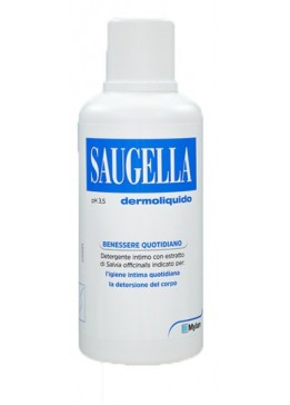 SAUGELLA Dermoliquido 500ml pH3,5