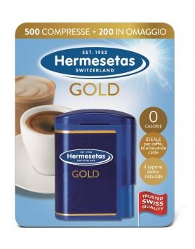 Hermesetas Gold 500+200 Compresse