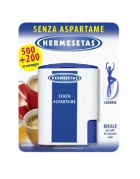 Hermesetas Senza aspartame 500+200 Compresse