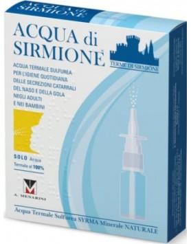 Acqua di Sirmione Minerale Naturale 15ml 6 flaconi