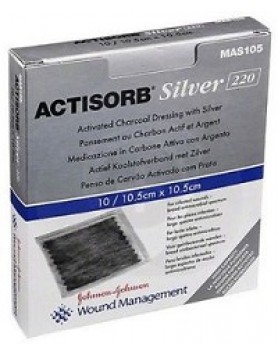 ACTISORB Silver 10,5x10,5  3pz