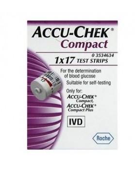 ACCUCHEK Compact 17 Strisce