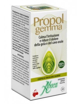 ABOCA Propolgemma- 45 Compresse Orosolubili Bambini