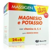 Massigen Magnesio Potassio 24+6 bustine