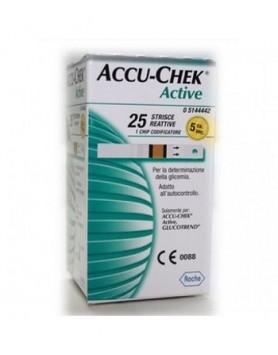 ACCUCHEK Active 25 Strisce