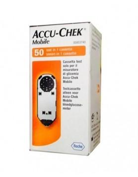 Accu-chek Mobile Mic2 Cassetta Test per Misuratore di Glicemia 50test