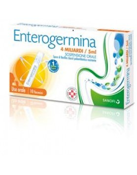 Enterogermina 10fl 4mld 5ml