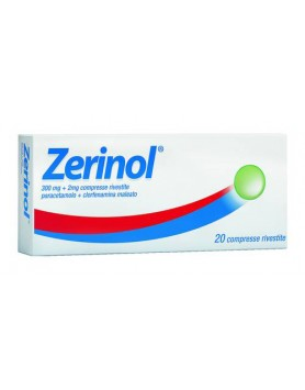 Zerinol 20cpr Rivestite 300mg+2mg