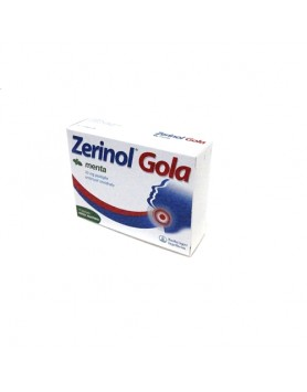 Zerinol Gola Menta 18pastiglie 20mg